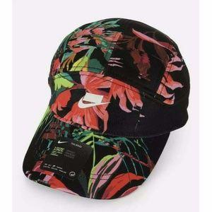 Nike Sportswear Tailwind Floral Running Cap Hat